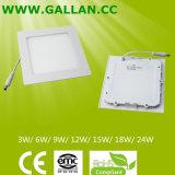 Cheap Price Super Slim 2835 SMD 9W Square LED Panel