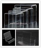 Acrylic Display Stand Acrylic Ladder Display Shelving