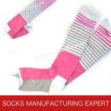 100% Cotton of Woman Coloful Tube Sock (UBM1040)