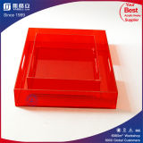 Red Acrylic Display Trays for Promotion