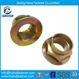 DIN 6923 Grade 8 Zinc Plated Flange Nut /Flanged Hex Nut/Hex Flange Nuts/Collared Hex Nut