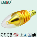 Rubycon Capacitor CREE Chip E14 C35 5W LED Candle Light