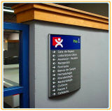 Directional Wall-Mounted Signage/Wall Sign Board