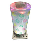 Solar Colorful Landscape Lamp with Loving Heart Pattern