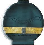 Plastic Jumbo Toilet Paper Dispenser with Transparent Ink Green (KW-519)