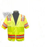 Working Clothing with Reflective Safety Fabric