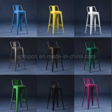 Industrial Black Metal Tolix Bar Stool for Sale (sp-mc042)
