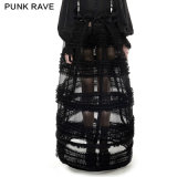 Lq-073 Female Multi-Level Perspective Lolita Skirt Adjustable Pannnier and Bustle From Punkrave