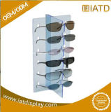 Custom Modern Clear Acrylic 6 Compartment Eyewear Sunglasses Display Case