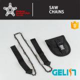 New Products Pocket Chain Saw Blades Survival Hand Chain Saw with More Cutting Teeth Great for Outdoor Camping