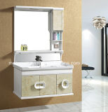 Single Sink PVC Bathroom Vanity / PVC Bathroom Cabinet