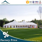 Cheap White Fabric Sidewall Temporary 12m*12m Mixed Marquee Wholesale