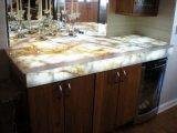 Wholesale Natural Fjord Lumix White Laminate/Kitchen/Bathroom/Concrete/Soapstone/Formica Stone/Marlbe/Granite/Quartzite Countertops/Vanity Tops