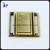 20mm Bronze Brushed Buckle Square Underwear Buckle Accessories
