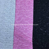 Soft Popular Glitter Synthetic Leather for Shoes, Bags