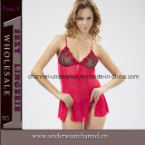 Wholesale Sexy Lady Lace Chemise Night Dress Lingerie (TSW6159)
