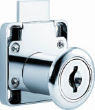 Metal Square Furniture Cabinet Drawer Lock (F0903)