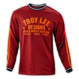 Pure Crimson Contracted Style Breathable Sports T-Shirt for Racing (MAT68)