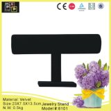 Black Velvet Jewelry Display Stand Design (8101)