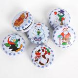 Christmas Tin Box for Mint