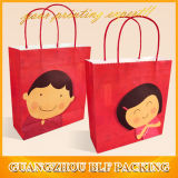 Paper Handles Lovely Printed Kraft Paper Bag