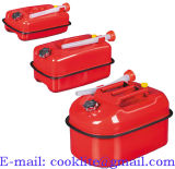 Horizontal Metal Jerry Can / Metal Fuel Can / Metal Gasoline Can / Petrol Can