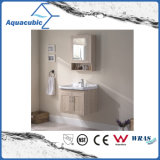 Wall-Mounted Plywood Mirror Vanity with Ceramic Basin (ACF8896)