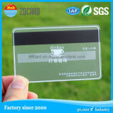 Plastic Transparent Visiting Card/RFID ID PVC Cards