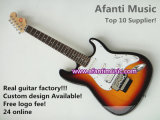Sunburst Color St Electric Guitar (Afanti AFEG115)