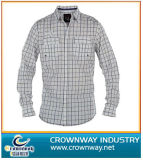 Men′s Long Shirt with High Quality (CW-LS-5)
