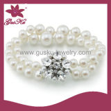 High Quality Fashion Jewelry Natural Shell Pearl Bracelet (2015 Plb-044)