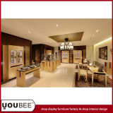 Fashion Display Showcases for Luxury Jewelry Store Interior Design