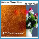 4mm Bronze Karachi Patterned Glass Figuer Glass Window Glass