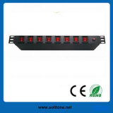 10A, 19-Inch Network Cabinet Individual Switch Control PDU