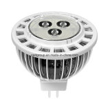 MR16 3W LED Spotlight with Aluminum Fins Material