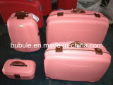 4PCS PP Luggage Set Trolley Case PP Suitcases (BL405--Wooden)