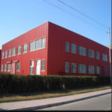 Bright Color Prefab Steel Structure Building Used for Workshop