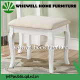Solid Wood Living Room Stool Furniture for Dresser (W-LZ-S508)