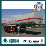 35cbm 2 Axle Fuel Transport Tanker Semi Trailer (ZQFZ300030)