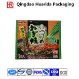 Custom Printed Flat Plastic Packaging Bag for Frozen Food