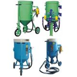Low Cost Sand Blaster Open Sand Blasting Machine