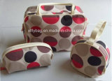 Fashion Serial Polyester DOT Cosmetic Case Cosmetic Bag