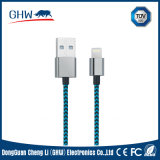 Braided Round Cable for iPhone Power Cable