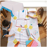 Kids Draw on PE Laminated Disposable Paper Tablecloth