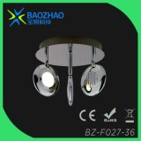 Plating Chrome Metal+Acrylic LED Ceiling Light