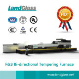 Landglass Flat and Bending Tempered Building Glass Making Machine