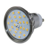 New Dimmable 400lm 2700k Ww 24 2835 SMD LED Cup Spotlight Bulb GU10