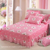 High Quality Soft 100% Cotton Plants Coverlet Bedspread