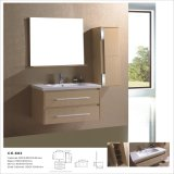 Wall-Mounted MDF Bathroom Cabinets with Side Cabinet and Mirror