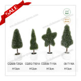 H10-19cm Best Selling Various Shaped Plastic Topiary Real Touch Artificial Flower